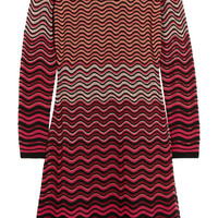 M Missoni - Metallic crochet-knit dress