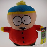 "Comedy Central South Park Cartman Plush 9"" Stuffed Toy Bendable Figure Book"
