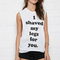 Married To The Mob Shaved My Legs Tank