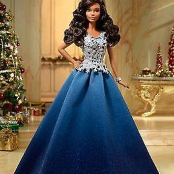 2016 Barbie Holiday Doll African American