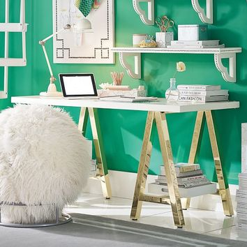 Customize-It Simple A-Frame Desk
