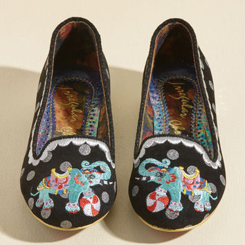 Irregular Choice Trunk of Burnin' Love Loafer | Mod Retro Vintage Flats | ModCloth.com