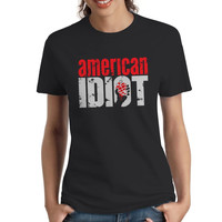 American Idiot Woman's T-Shirt, T-Shirts, Women's Tees, Shirts, Shirt