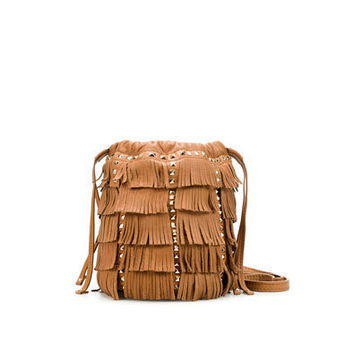 MINI MESSENGER BAG WITH FRINGES - Messenger bags - Handbags - Woman - ZARA United States