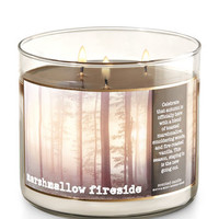 Marshmallow Fireside 3-Wick Candle | Bath And Body Works