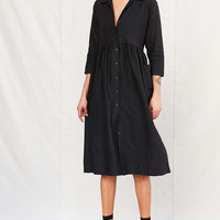 Urban Renewal Remade Linen Button-Down Babydoll Dress - Urban Outfitters