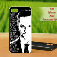 Jim Moriarty Famous Quote - Print on hard plastic case for iPhone case, Samsung Galaxy case and iPod case. Select an option