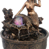 Mermaid - Rolling Orb with Light - Fountain