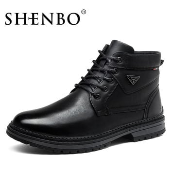 Fashion Winter Super Warm Men Boots,  Men Ankle Boots, Popular Men Winter Shoes