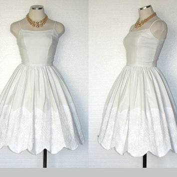Vintage 50s Party Dress / 50s Jonathan Logan by DeannesVintage