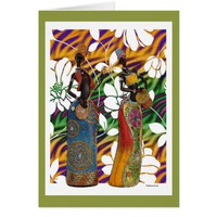 Music In The Garden Of Africa Card