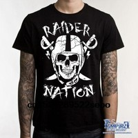 Straight Raider Nation Men's Casual T-Shirt women