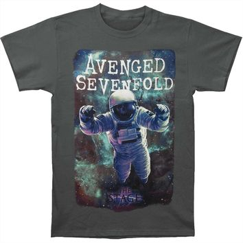 Avenged Sevenfold Men's  AVS Spaceman Mens Regular T T-shirt Charcoal