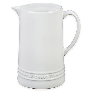 Le Creuset® 1.6-Quart Pitcher in White
