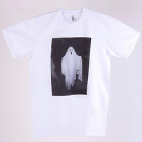 American Apparel - Screen Printed Tee - Sheet Ghost