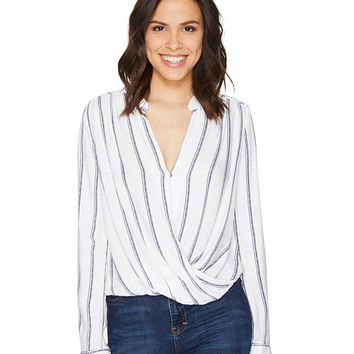 Splendid Surplice Top Natural - Zappos.com Free Shipping BOTH Ways