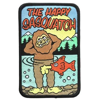 Happy Sasquatch Patch