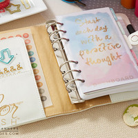 Preorder** Webster's Pages Color Crush Planner Kit -White