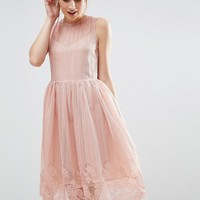 The English Factory Overlay Dress at asos.com
