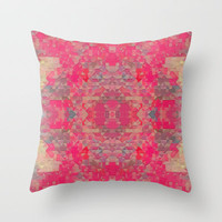 Spring Throw Pillow by Deniz Erçelebi