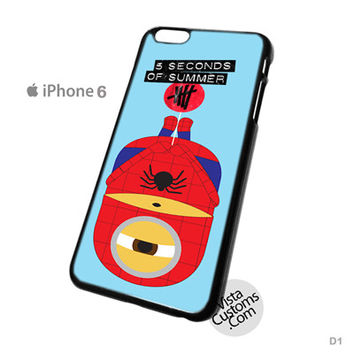 Spiderman Despicable Me Minion 5 seconds of summer New Hot Phone Case For Apple, iPhone, iPad, iPod, Samsung Galaxy, Htc, Blackberry Case