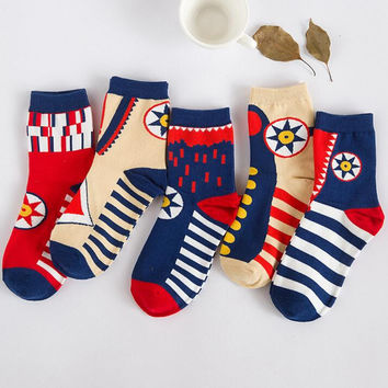 Womens Casual Socks Winter Autumn Gift-14