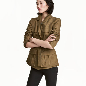 H&M Fitted Utility Jacket $59.99