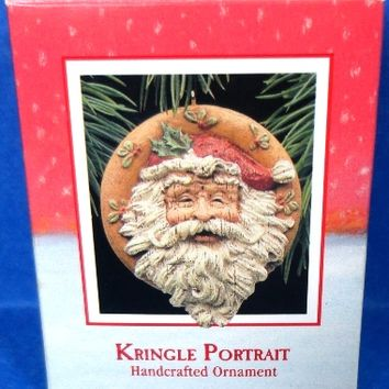 1988 Kringle Portrait Hallmark Retired Ornament