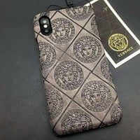 Versace Fashion iPhone Phone Cover Case For iphone 6 6s 6plus 6s-plus 7 7plus 8 8plus X