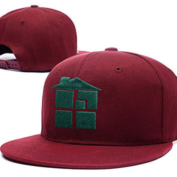 XINMEN Homestuck Logo Adjustable Snapback Embroidery Hats Caps - Red