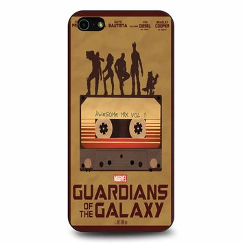 Guardians Of The Galaxy Minimalist iPhone 5/5s/SE Case