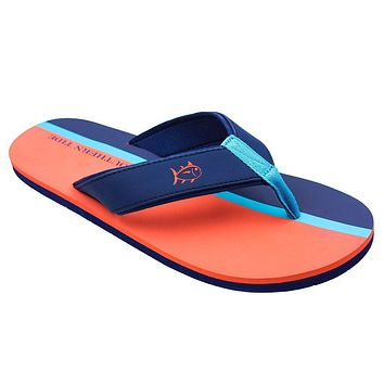 Surfside Flipjacks in Island Orange by Southern Tide