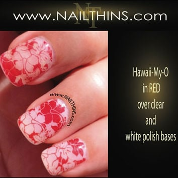 Nail decal Hawaii My Oh nail art designs NAILTHINS by NAILTHINS