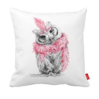 Diva Owl Pillowcase