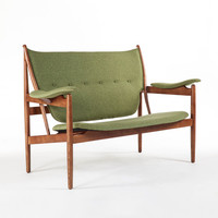 The Bowman Loveseat - Green