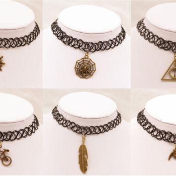 Fashion metal Sun necklaces for women/girls new arrival fashion jewelry daily chokers necklace pendants