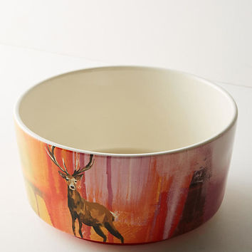 Winter Fauna Serving Bowl