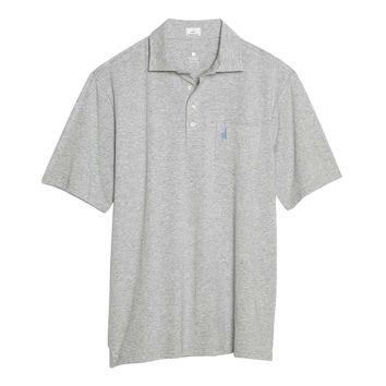 Heathered Original Polo in Gray by Johnnie-O