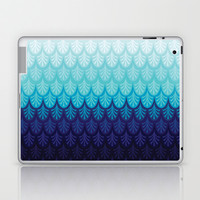 Arctic Ombre! Laptop & iPad Skin by TotalBabyCakes