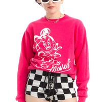 Vintage 90's Minnie Mouse Sweatshirt - XS/S/M