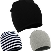 Toddler Infant Baby Cotton Soft Cute Knit Kids Hat Beanies Cap