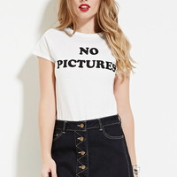 Motel No Pictures Graphic Tee | Forever 21 - 2000177502