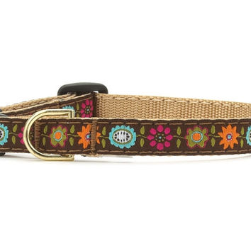 Up Country Bella Floral Cat Collar