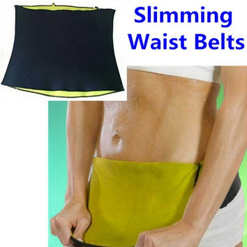 Waist Cincher Body Trainer Tummy Trimmer Neoprene Slimming Belt Ceinture Minceur Hot Shapers = 1932380676