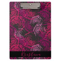 Roses Print Clipboard