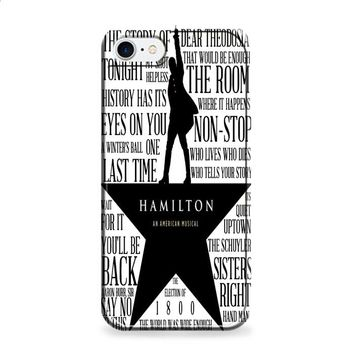 Hamilton Lyrics iPhone 6 | iPhone 6S case
