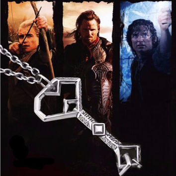 "Lord of the Rings Thorin Oakenshield ""Key to Erebor"" Necklace"