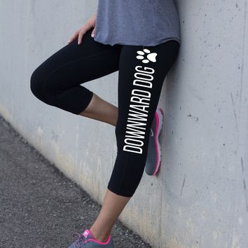 Downward Dog Yoga Leggings for Women