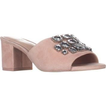 Aldo Sakuraa Jewels Slide Sandals, Light Pink, 8 US / 38.5 EU