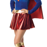 Supergirl 1pc Adult Xsmall
